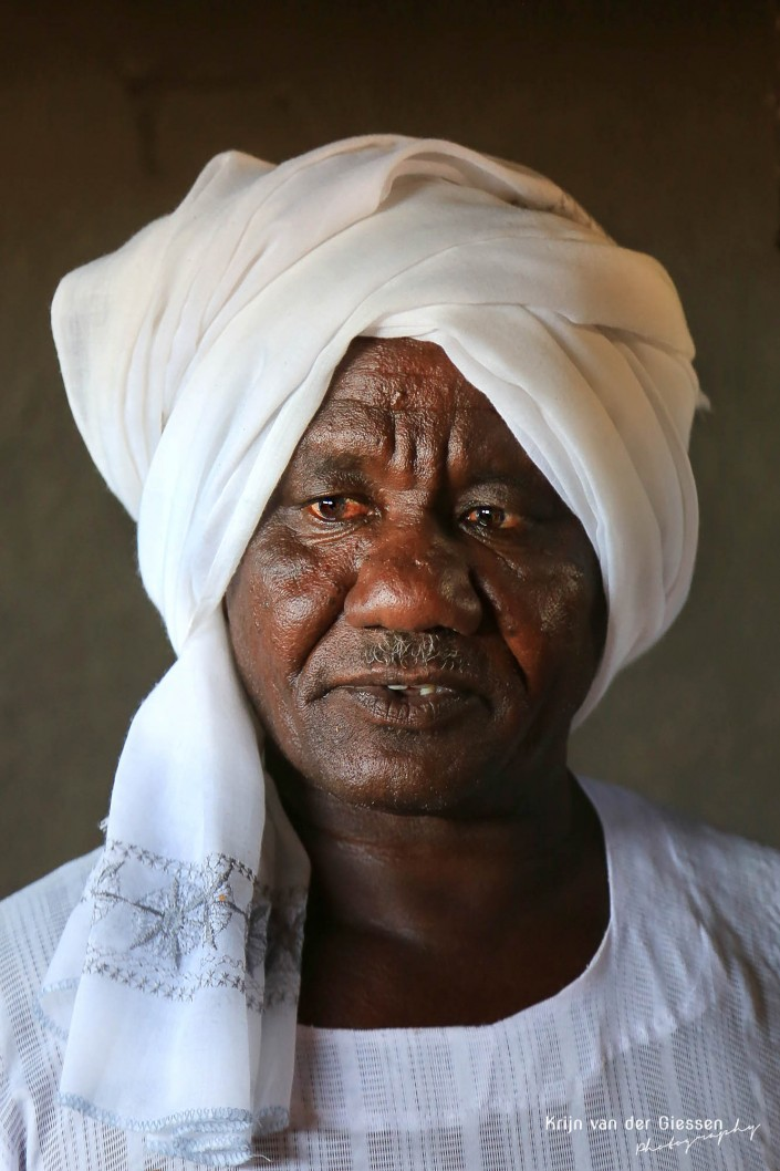 Sudanese man copyright by krijn van der Giessen Photography