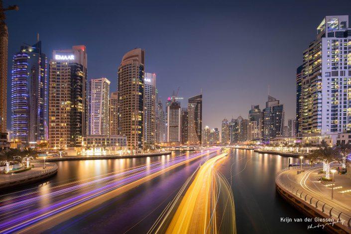 Dubai Marina Long Exposure Architecture Krijn van der Giessen Photography Copyright-3