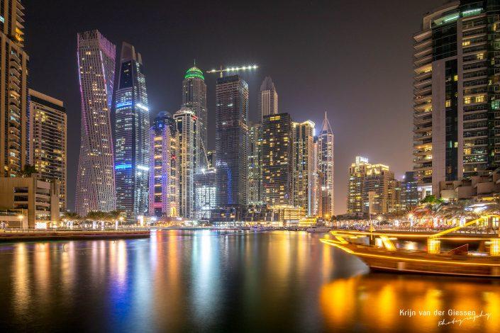 Dubai Marina Long Exposure Architecture Krijn van der Giessen Photography Copyright-5