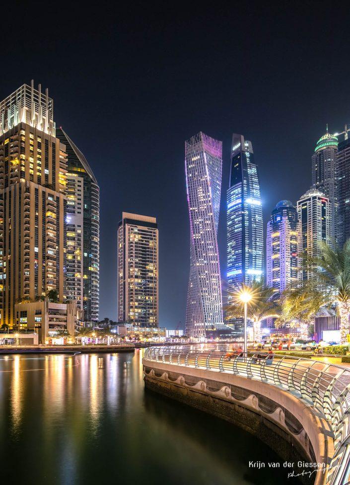 Dubai Marina Long Exposure Architecture Krijn van der Giessen Photography Copyright-7