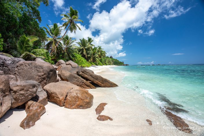 Seychelles Mahe Island deserted beach Copyright by Krijn van der Giessen Photography