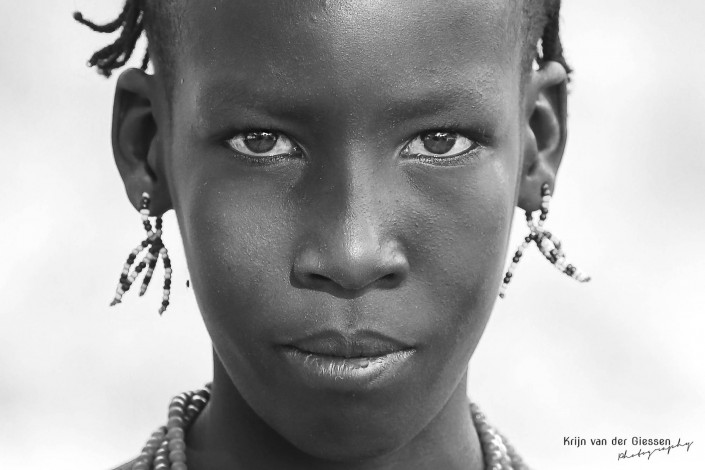 Hamer boy portrait Ethiopia copyright by krijn van der Giessen Photography