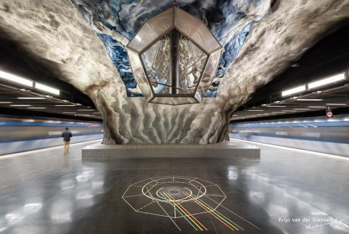 Stockholm Metro Tekniska Hogskolan by Krijn van der Giessen