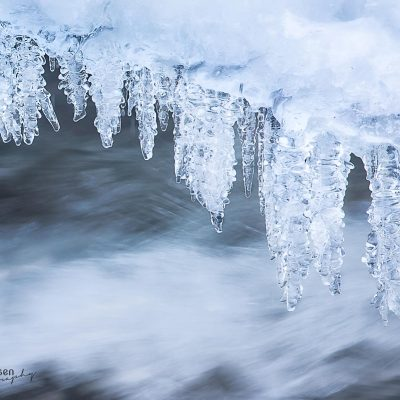 Storforsen waterfall icicle Zweden winterphotography tips