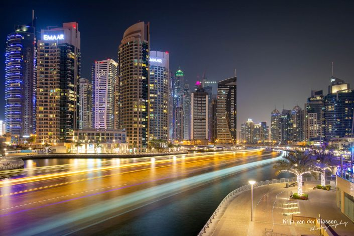 Dubai Marina Long Exposure Architecture Krijn van der Giessen Photography Copyright-6