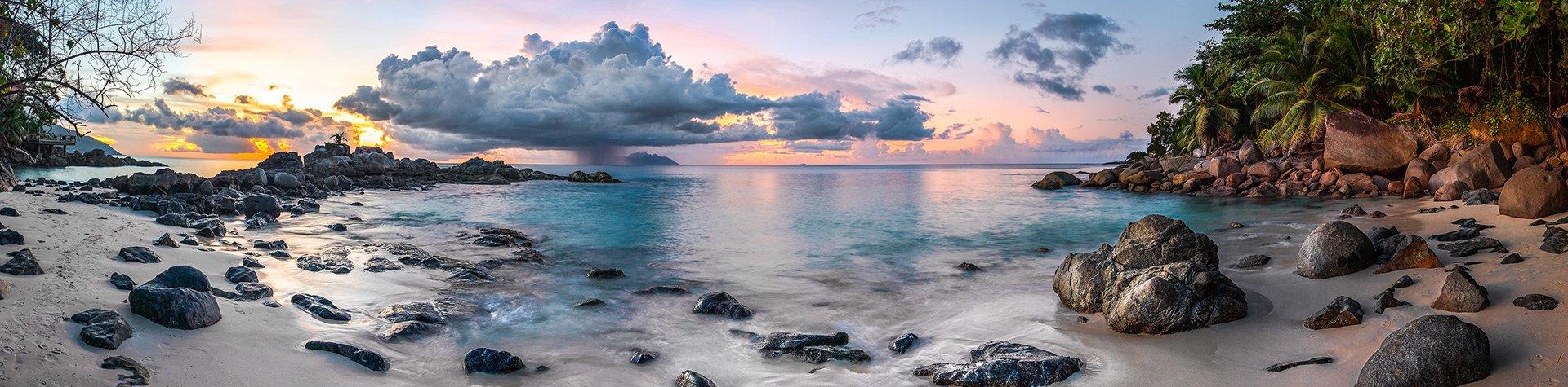 Seycehhles Mahe Island Silhouette Island copyright Krijn van der Giessen Photography