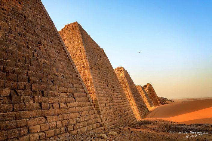 Sudan Meroe Pyramids Krijn van der Giessen Photography Copyright 1