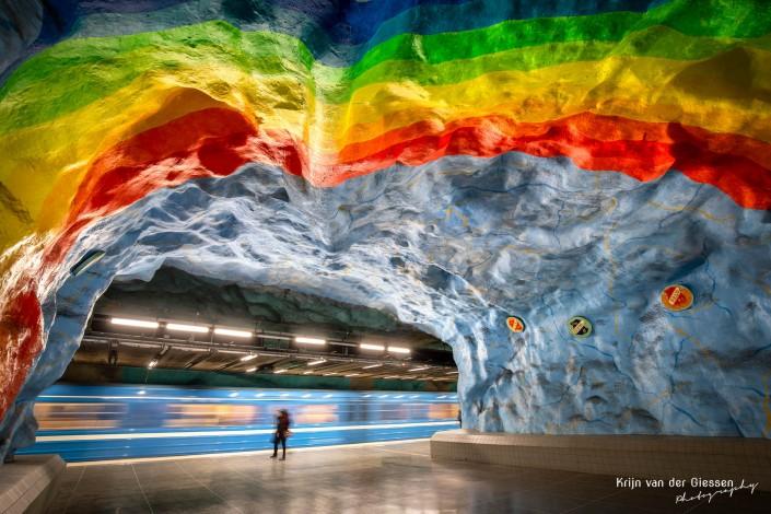 Stockholm Metro Stadion by Krijn van der Giessen